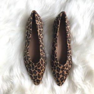 ASOS Leopard Print Ballet Flats Size 7
